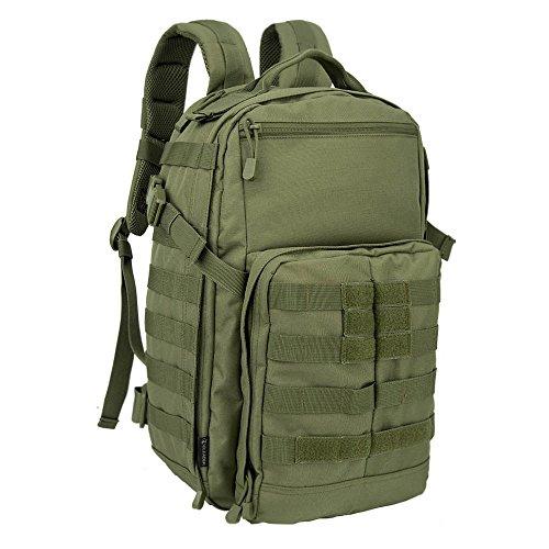 Oleader 30L Taktischer Rucksack Militär Molle 3 Tage Angriffspackung Sturm-Rucksack für Wandern Schießen Camping Trekking Jagd im Freien