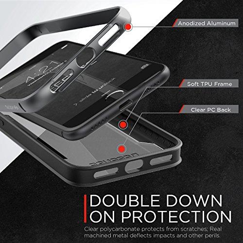 X-Doria Etui en aluminium pour iPhone 7 Plus Argent Gris