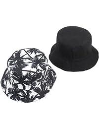 Cappello da Pescatore di Moda Estiva Cappello da Uomo di Cotone di Stampa  delle Donne degli 430d88966706