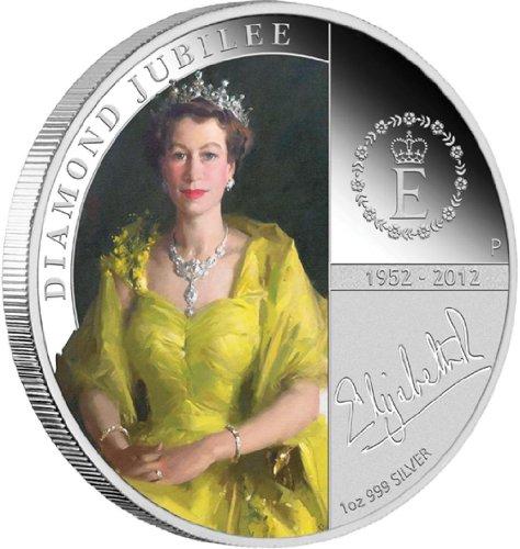 AUD $H 1 M, Queen Elizabeth Ii-Diamond Jubilee 2012 1 g, silber, (australischer Dollar), ideales Geschenk für 2014