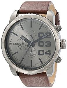 Reloj Diesel DZ4210 de cuarzo para hombre con correa de piel, color marrón de Diesel