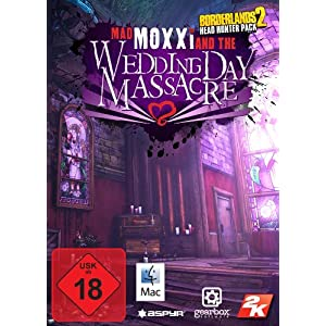Borderlands 2 – Headhunter Pack: Mad Moxxi and the Wedding Day Massacre [Mac Steam Code]
