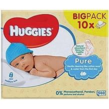 Huggies Puro Bebé Toallitas De 10 X 56 Por Paquete - Paquete ...
