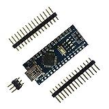 Heraihe Mini Breadboard freundliche USB Nano V3.0 ATmega328 5V Micro-Controller Vorstand Voltage Regulator für Arduino-kompatibel