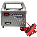 6v 12v 6amp Compact Car and Motorcycle Battery Charger - Toolzone - amazon.co.uk