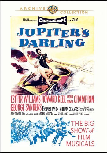 Jupiter's Darling by Howard Keel, Marge Champion, George Sanders, Richard Haydn, William Demarest Esther Williams
