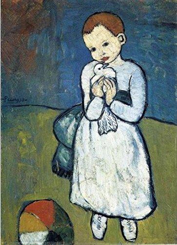 Puzzle Michele Wilson - L'enfant à la colombe de Pablo PICASSO - Bois - W165-24