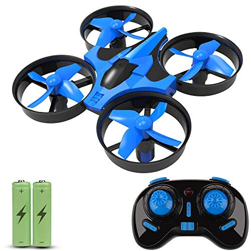 Unbekannt Mini Drone for Kids, RC Quadcopter 360 UFO Remote Control Helicopter mit 2.4G 4CH 6 Axis Headless Mode One Key Return Flying Toys for Boys Girls
