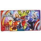Parteet® Dual Side Magnetic Multifunctional Pencil Box For Kids(Avenger)