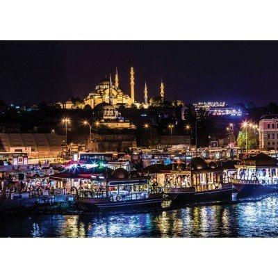 Preisvergleich Produktbild Néon Puzzle - Eminönü, Istanbul