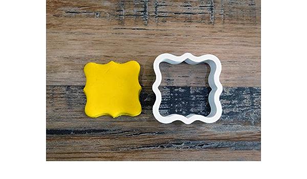 Biscuit p/âte /à Modeler-D/écoration g/âteau-Fait Maison-FR 3D ELACE Emporte-pi/èce Biscuit prenom personalisable Patisserie p/âte /à Sucre sabl/é