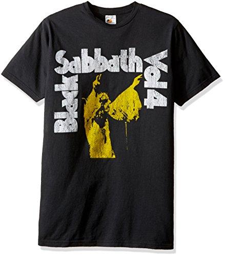 Black Sabbath Vol. 4schwarz T-Shirt Gr. M, schwarz (Herren Für Butler-shirt Black)