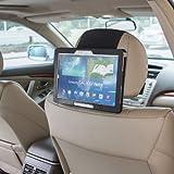 TFY Soporte de Samsung Galaxy Tab 3 & Tab PRO 10.1 pulgadas para el Reposacabezas del Coche