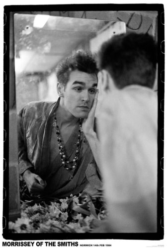 MORRISSEY THE SMITHS NORWICH 1984 MAKE UP, POSTER, 33 X 23 CM