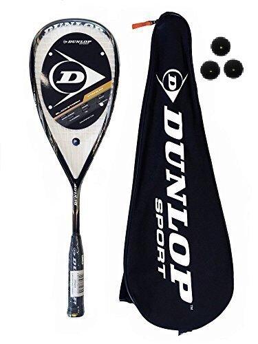 Preisvergleich Produktbild Dunlop Blackstorm 4D Titan Squashschläger RRP £180