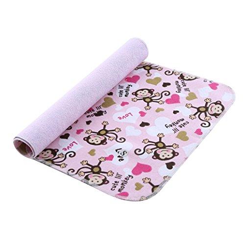Preisvergleich Produktbild babylaza Baby Kleinkind Wasserdicht Waschbar Windel Wickeltisch Pad–3Schichten Wasserdicht