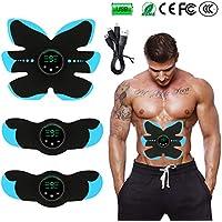 NIULLA Body Slimming Massager EMS Estimulador De Entrenamiento Muscular Abdominal Wireless Gym Professional Home Fitness USB Recargable