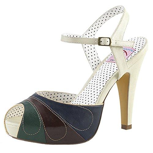 Heels-Perfect, Sandali donna Mehrfarbig (beige)