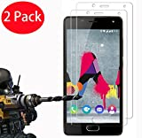 FoneExpert® 2 Pack - Wiko U Feel Lite Verre Trempé, Vitre Protection Film de protecteur d'écran Glass Film Tempered Glass Screen Protector Pour Wiko U Feel Lite