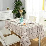 PQPQPQ Einfache Tabelle Ribbon Moderne Home Couchtisch Grid Tuch, 2 130 * 180 cm.