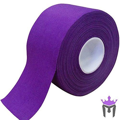 Meister Premium Athletic óxido de zinc cinta para deporte y medicina de la Trainer–13,7m x 3,8cm)–varios colores, niña mujer Niños Infantil hombre, morado