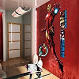 Marvel Wall Sticker Adesivo da Muro, Vinile, Multicolore, 90x160 cm