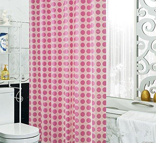 Duschvorhänge Mildew wasserdichte Dickere PEVA Badezimmer Cut Vorhänge Vorhänge Hanging Vorhang Streifen , 200cm*200cm , 2 (Undurchsichtig Schlüsselloch)