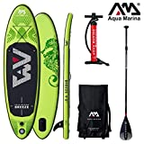Aqua Marina Breeze 2019 SUP Board Inflatable Stand Up Paddle Surfboard Paddel