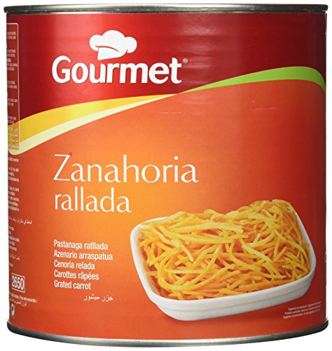 Gourmet - Zanahoria rallada - 1.4 kg