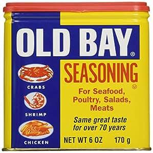 American Old Bay Seasoning: 170g Tub