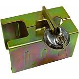 Cartrend 70138 -  Protector para enganche de remolque con candado de disco
