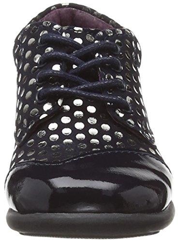 Mod8 Lou, Chaussures Premiers Pas Bébé Fille Bleu (Marine imprimé)