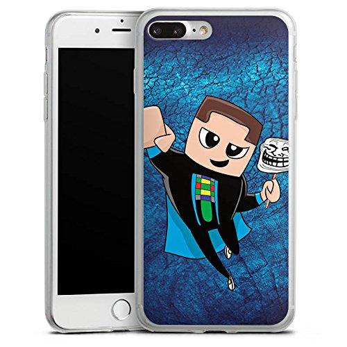 Apple iPhone X Slim Case Silikon Hülle Schutzhülle GommeHD Fanartikel Merchandise Youtuber Silikon Slim Case transparent
