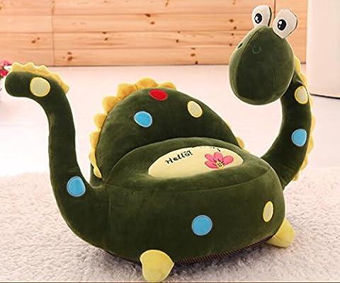 MeMoreCool Creative Dinosaur Cartoon Sofa Plush Chair for Children,Super Soft Kids Chair,Upgrade Plush Toy Sofa,Wonderful Gifts for Boys and