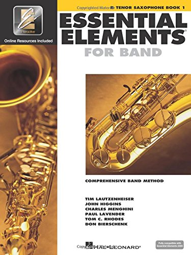 Essential Elements for Band - BB Tenor Saxophone Book 1 with Eei [With CDROM and CD (Audio) and DVD]