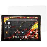 atFoliX Folie für Acer Iconia Tab 10 (A3-A40) Displayschutzfolie - 2 x FX-Antireflex-HD hochauflösende entspiegelnde Schutzfolie