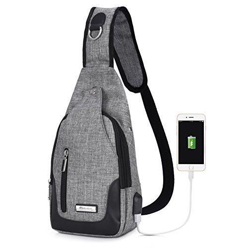 Vbiger borsa tattico spalla cassa rigattiere e posteriore di campeggio escursionismo