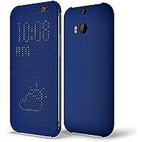 HTC Dot View Cover für HTC One (M8), blau