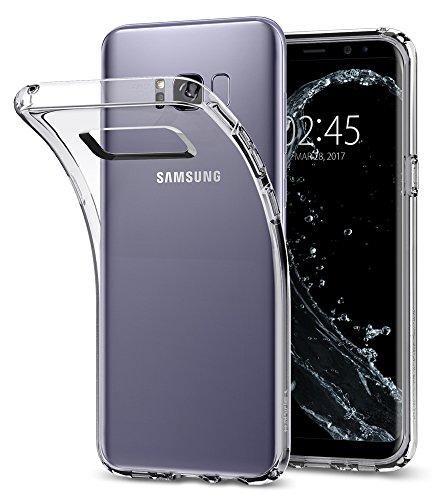 Spigen Liquid Crystal Case For Samsung Galaxy S8 Plus - Crystal Clear...
