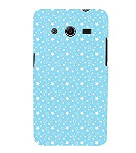 Star Pattern design 3D Hard Polycarbonate Designer Back Case Cover for Samsung Galaxy Core 2 G355H :: Samsung Galaxy Core II :: Samsung Galaxy Core 2 Dual