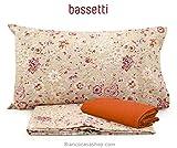 Completo letto MATRIMONIALE Bassetti Art. DORADA Var. beige/arancio