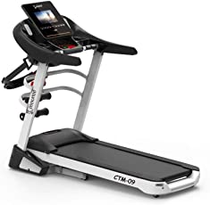 Cockatoo CTM-09 2 HP Motorised Auto-Incline & Multi-Function Treadmill with Massager, Free Installation