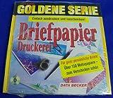 Goldene Serie. Briefpapier- Druckerei. CD-ROM für Windows 3.1X/95