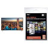 Panasonic Viera TX-55CXW704 139 cm (55 Zoll) Fernseher (Ultra HD, Triple Tuner, 3D, Smart TV)+ HD PLUS CI+ Modul für 6 Monate (inkl. HD+ Karte, optimal geeignet für UHD, nur für Satellitenempfang) Bundle