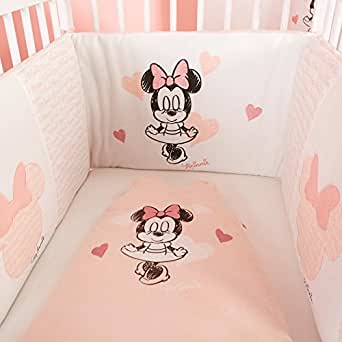 kiabi tour de lit 39 minnie 39 rose tu v tements et accessoires. Black Bedroom Furniture Sets. Home Design Ideas