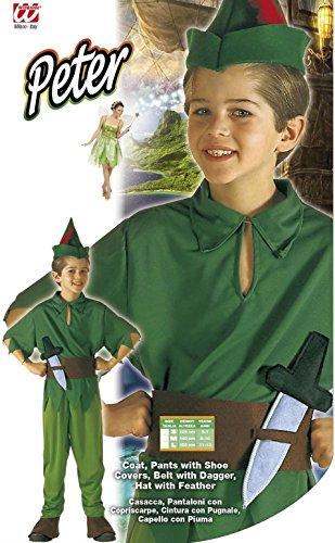 Imagen de peter pan  niños disfraz  pequeño  edad 5 7  128cm alternativa