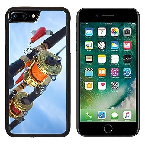 MSD Premium Apple iPhone 7 Plus Aluminum Backplate Bumper Snap Case iPhone7 Plus big game fishing reel in natural setting IMAGE 13821218
