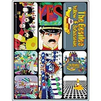 Beatles-Yellow Submarine mini-magnet-set - Beatles Yellow Submarine Magnet