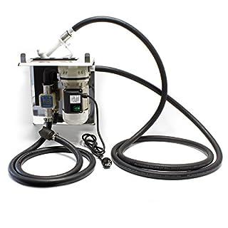 AdBlue® selbstansaugende Förderpumpe 40l/min 230V/ 400W mit Zapfpistole, Zählwerk und Grundplatte