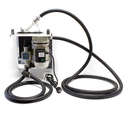 Preisvergleich Produktbild AdBlue® selbstansaugende Förderpumpe 40l / min 230V / 400W mit Zapfpistole,  Zählwerk und Grundplatte